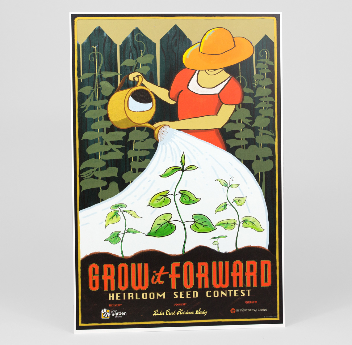 Victory Garden Poster Discount Maker At